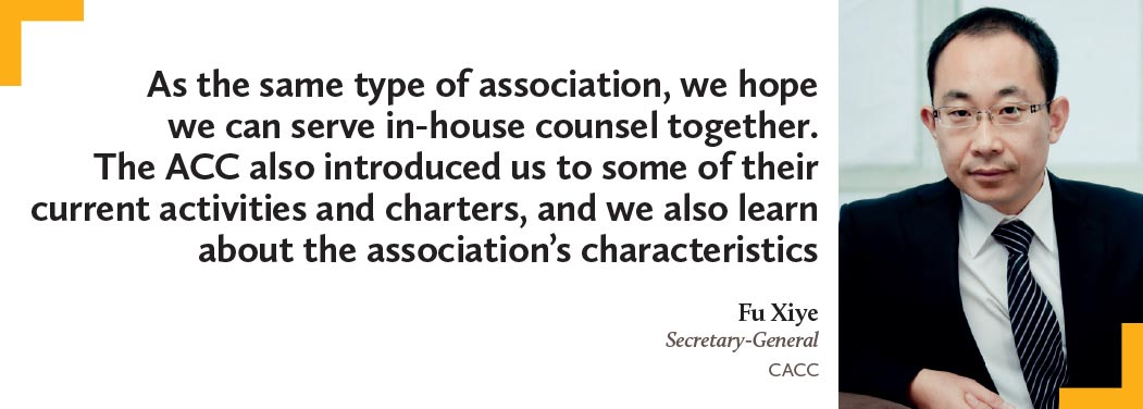 Fu-Xiye,-Secretary-General,-CACC