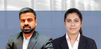 Rahul Arora and Ruhani Khanna, HSA Advocates