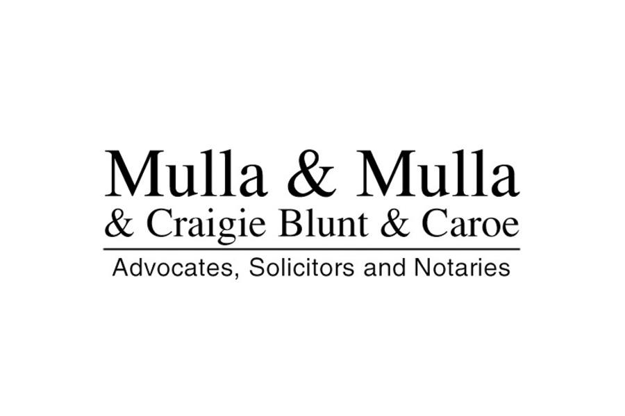 Mulla & Mulla & Craigie Blunt & Caroe
