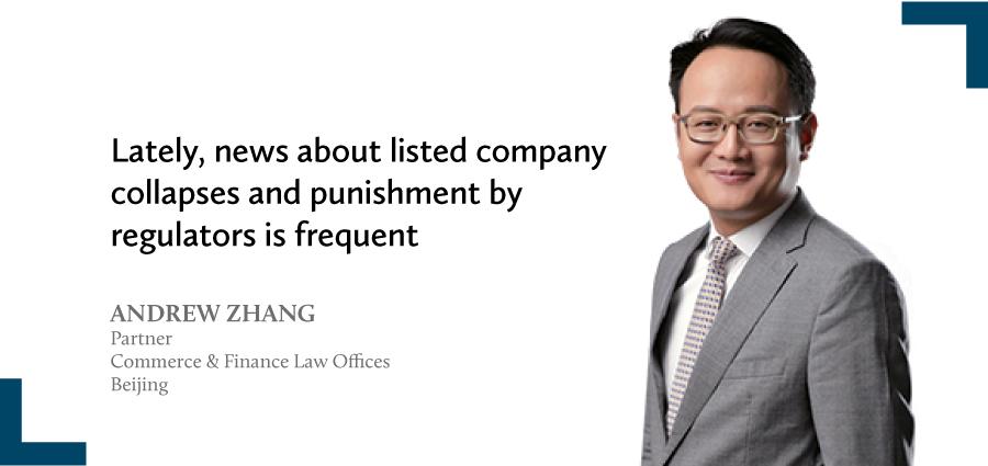 Andrew Zhang Partner Commerce Finance Law Offices Beijing
