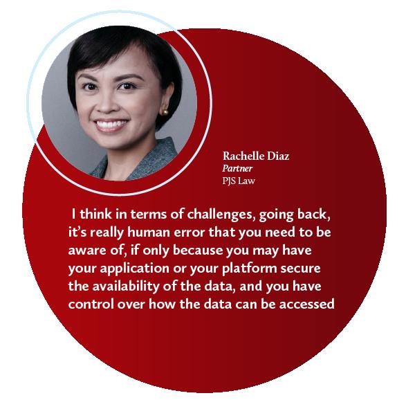 rachelle diaz data protection cybersecurity